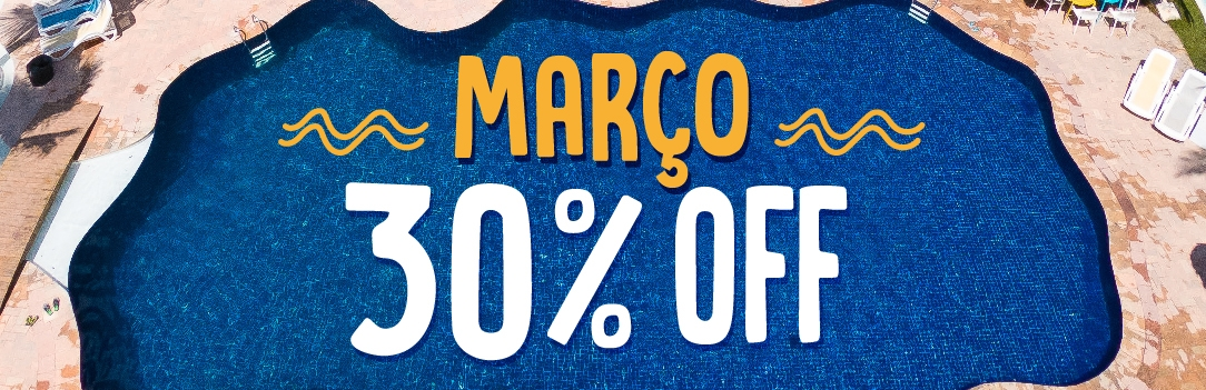 March with 30% Off